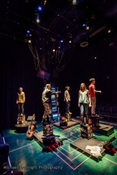 """DramaTech Theater's """"Five Faces for Evelyn Frost"""" Dress Rehearsal"""
